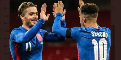 Starting XI Ukraina vs Inggris - Akhirnya Anak Baru Manchester United Jadi Starter