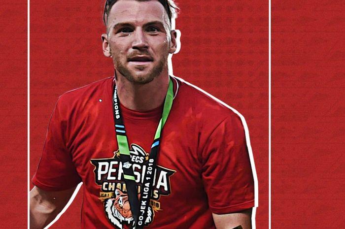 Marko Simic menjadi salah satu pemain Persija Jakarta yang melelang barang pribadi untuk donasi penanganan pandemi Covid-19.