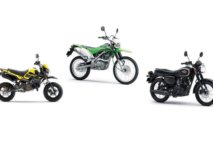 Kawasaki KSR Pro, KLX 150, W175 lansiran 2018 ada diskon
