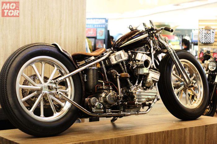 Harley-Davidson Panhead Vintage Dragster KikAss Chopper
