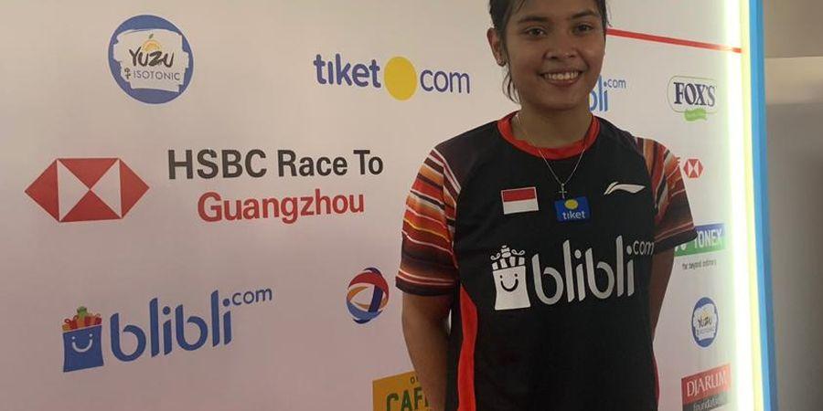 Indonesia Open 2019 - Gagal Kalahkan Unggulan Thailand, Gregoria Mengaku Sudah Maksimal