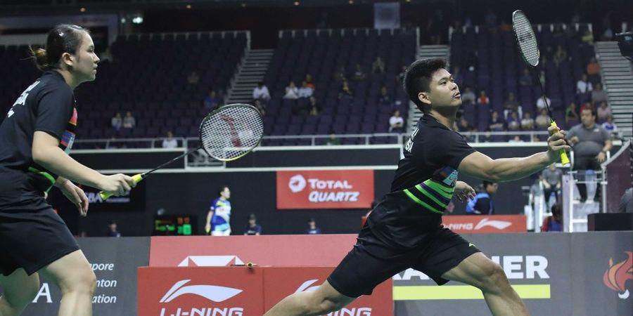 Hasil Singapore Open 2019 - Praveen/Melati Gagal Atasi Zheng/Huang