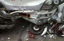 Begini Kronologi Kecelakaan Motor Honda Scoopy yang Tewaskan Mantan Pemain PSPS Sekeluarga