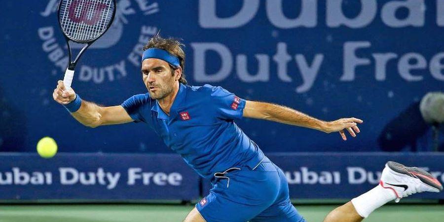 Selangkah Menuju Gelar Ke-100, Federer Jumpa Tsitsipas di Final Dubai