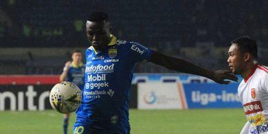 Ezechiel NDouassel Resmi Berseragam Bhayangkara FC