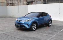Dimensi Lebih Besar, Akomodasi Toyota C-HR Lebih Baik Dibanding Honda HR-V?