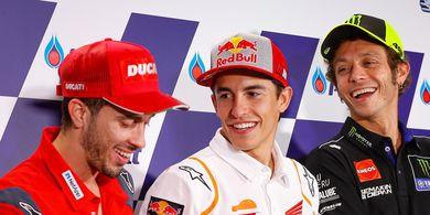 Tes Pramusim MotoGP 2020 - Ditanya Krisis Honda, Valentino Rossi Tertawa