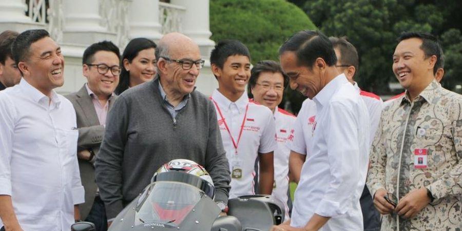 Presiden Joko Widodo Lakukan Peninjauan di Sirkuit Mandalika, Lombok