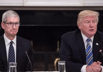 Donald Trump Ingin Apple Bangun Pabrik Baru di Wilayah Texas