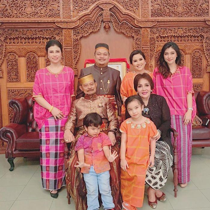 Keluarga <a href='https://manado.tribunnews.com/tag/syahrul-yasin-limpo' title='SyahrulYasinLimpo'>SyahrulYasinLimpo</a>