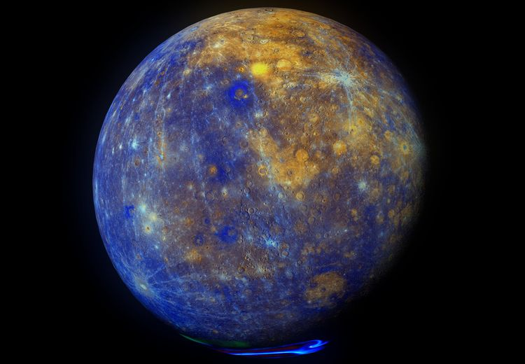 Planet Merkurius, Planet  Panas Dingin Ekstrem Pembawa Pesan
