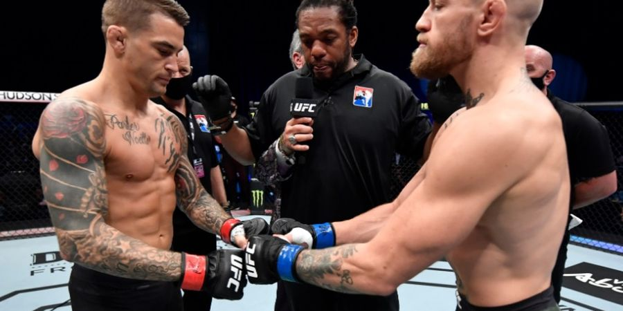 UFC 264 - Dustin Poirier Belum Keok, Conor McGregor Sudah Umumkan Duel Kontra Charles Oliveira