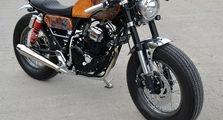 Ganteng Maksimal, Karakter Jack Sparrow di Motor Yamaha Scorpio Cafe Racer