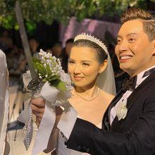 Resmi Menikah dengan Edric Tjandra, Intip Cantiknya Venny Chandra Saat Resepsi Pernikahan