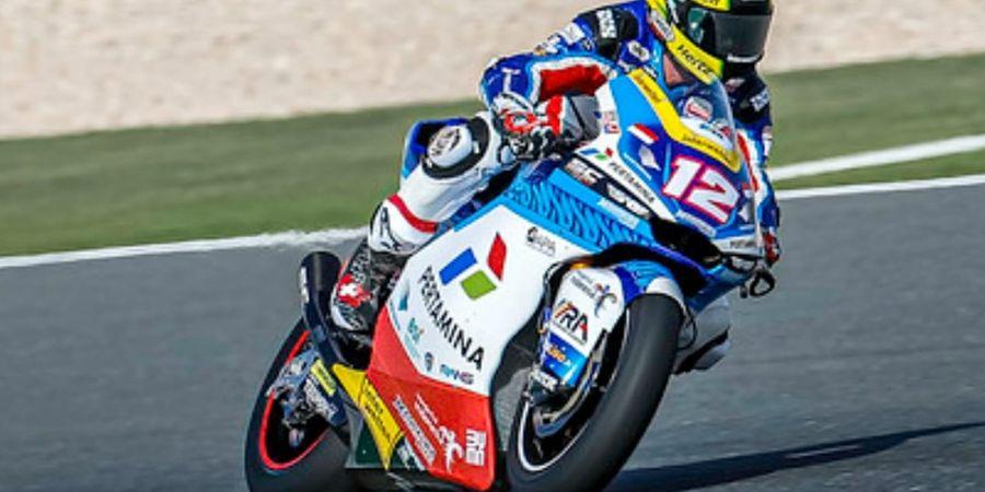 Moto2 Doha 2021 - Motor Tak Bisa Ngebut, Pembalap Tim Indonesia Bingung