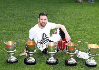 Lionel Messi Cuma Pernah Sekali Minta Tukar Jersi, Sama Siapa Hayo?