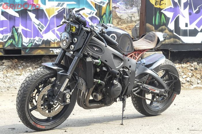 Yamaha YZF-R6 2005 cafe (From) Racer