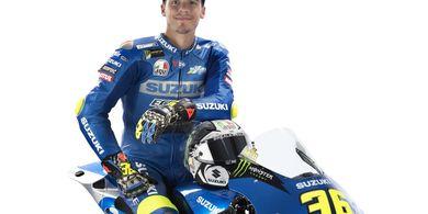 Marc Marquez dan Valentino Rossi Bikin Joan Mir Minder Pakai Nomor 1 di MotoGP