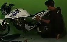 Honda Tiger Dimodif, Kena Omel Emak, Anak Diancam Dibeliin Gerobak