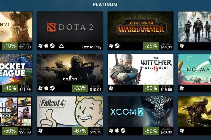 Game populer di Steam