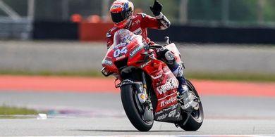 Berita MotoGP - Dovizioso Menilai Valentino Rossi Berhasil Mengubah Mentalitas Lamanya