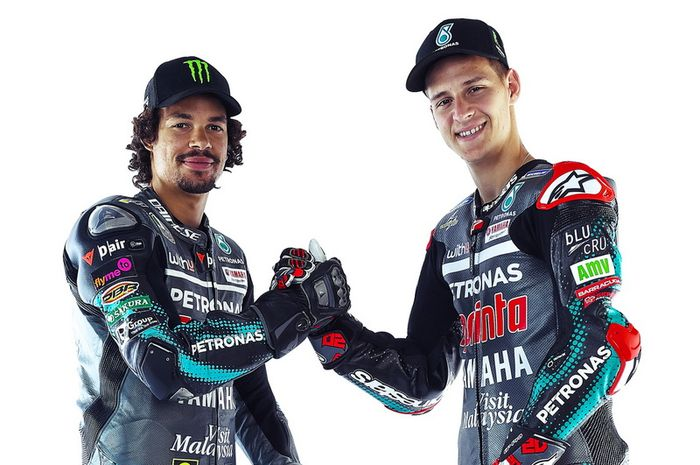 Pembalap tim Petronas Yamaha, Franco Morbidelli dan Fabio Quartararo bertekad menuai hasil positif di MotoGP Spanyol