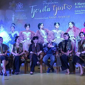 Kehadiran Puteri Indonesia Meriahkan Palembang Fashion Week 2020