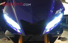 Sudah Pakai LED, Seperti Ini Terangnya Lampu Yamaha New R25