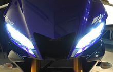 Anti Gelap, Lampu Yamaha R25 Sudah Pakai LED Terangnya Puol