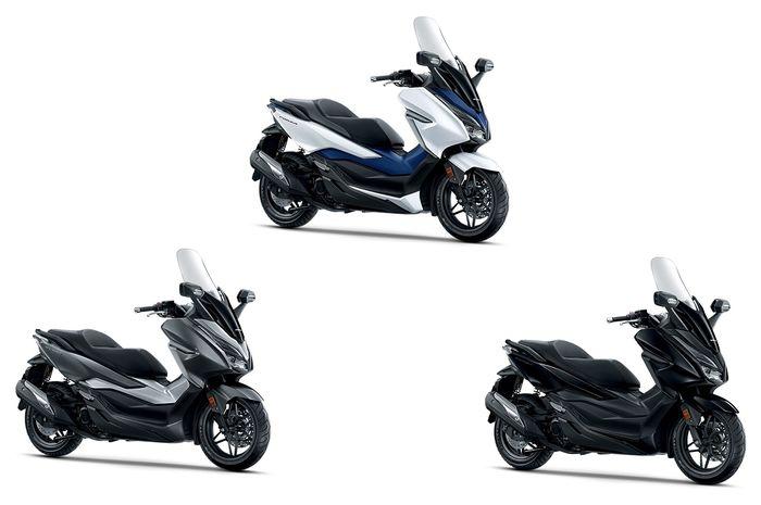 Pilihan warna Honda Forza 250