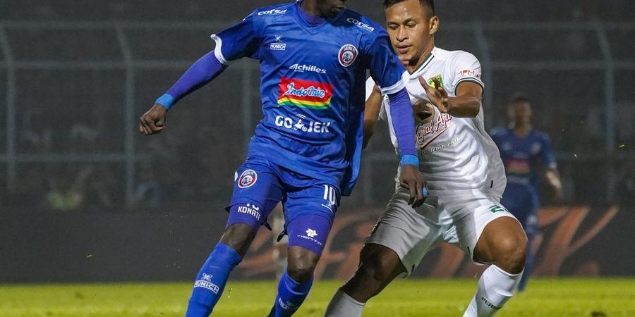 Saat Berseragam Arema FC, Makan Konate Menjadi Teror bagi Badak Lampung FC