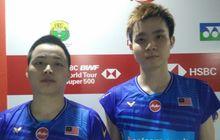 Olimpiade Tokyo 2020 - Usai Tumbangkan Marcus/Kevin, Ganda Putra Malaysia Tak Mau Sombong Dulu