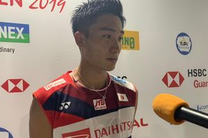 Hasil Indonesia Open 2019 - Kento Momota Susul Kegagalan Anthony Ginting