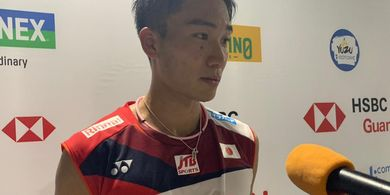 Indonesia Open 2019 - Kekalahan Rekan Senegara Jadi Motivasi Kento Momota