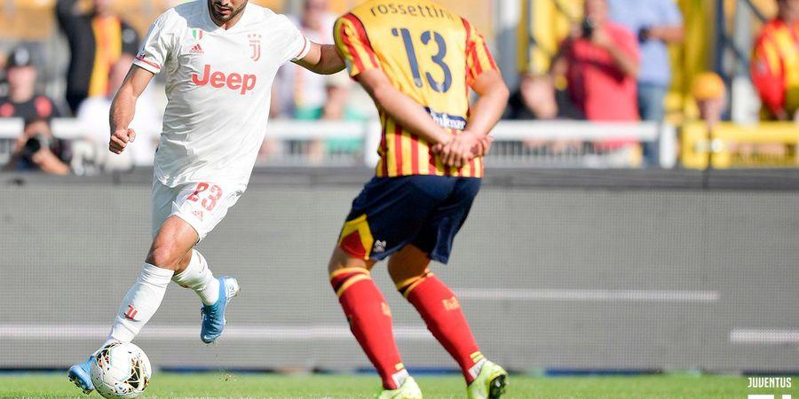 Babak I, VAR Batalkan Keunggulan Juventus atas Lecce
