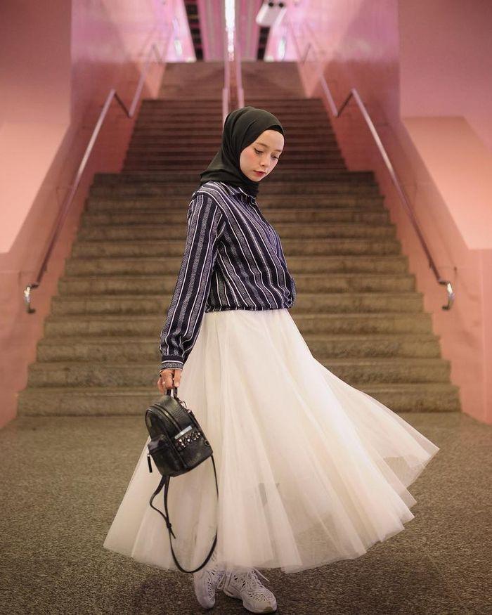 Fashion Item Kekinian yang Jadi Favorit Selebgram Hijab - Rok Tutu