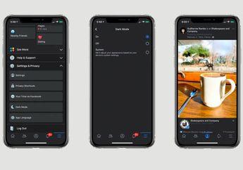 Facebook Uji Coba Fitur Dark Mode untuk Pengguna iOS dan Android