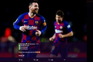 Lionel Messi Cuma Pernah Minta Kostum Mantan Pemain Real Madrid