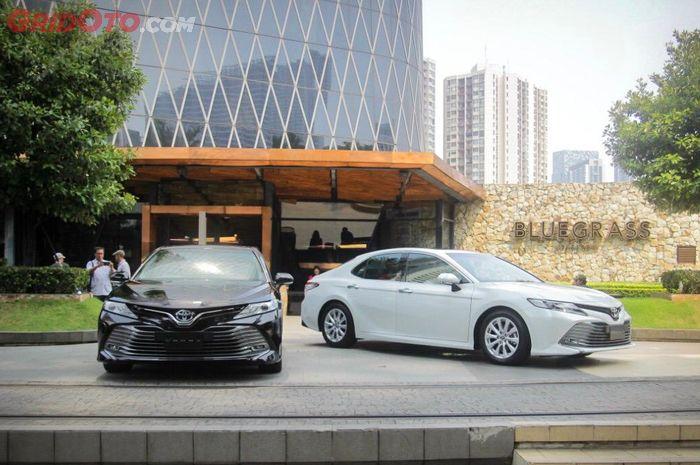 Toyota All New Camry dihargai mulai Rp 613 jutaan sampai Rp 806 jutaan