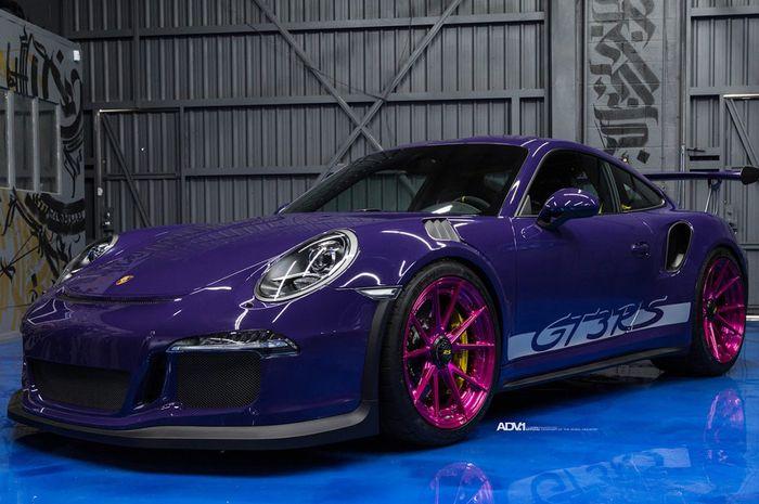Porsche 911 GT3 RS pakai pelek khusus dan body paint unik dari ADV.1 Wheels