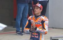 VIDEO - Intuisi Tajam Marc Marquez Berbuah Pole Position MotoGP Prancis 2019