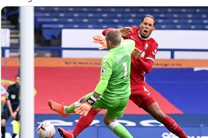 Cedera yang dialami oleh bek Liverpool, Virgil van Dijk, membuatnya terancam absen dalam Piala Eropa.