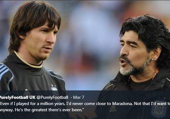 Raih 6 Ballon d'Or, Lionel Messi Masih Terbayangi Diego Maradona
