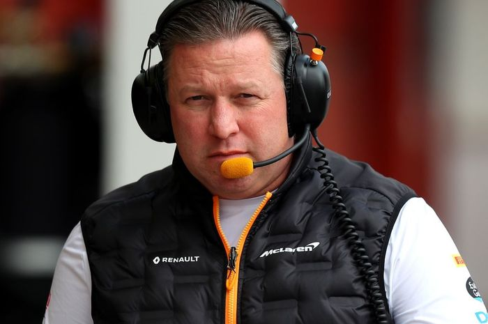 Bos McLaren, Zak Brown was-was empat tim F1 akan hilang bila kurang pintar mengatur finansialnya.