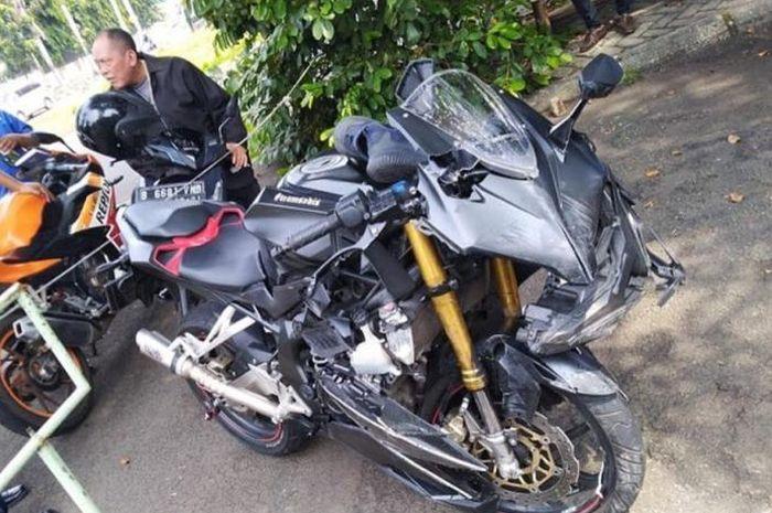 Honda CBR250RR seketika buruk rupa