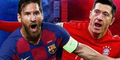 Pelatih Barcelona Frontal Bilang Lewandowski Tak Selevel dengan Lionel Messi