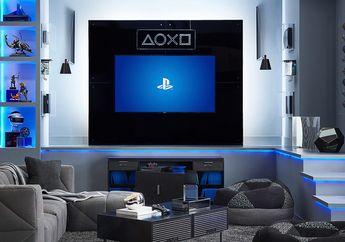 Cool! Tampilan Ruang PlayStation dengan Perabot Official dari SONY