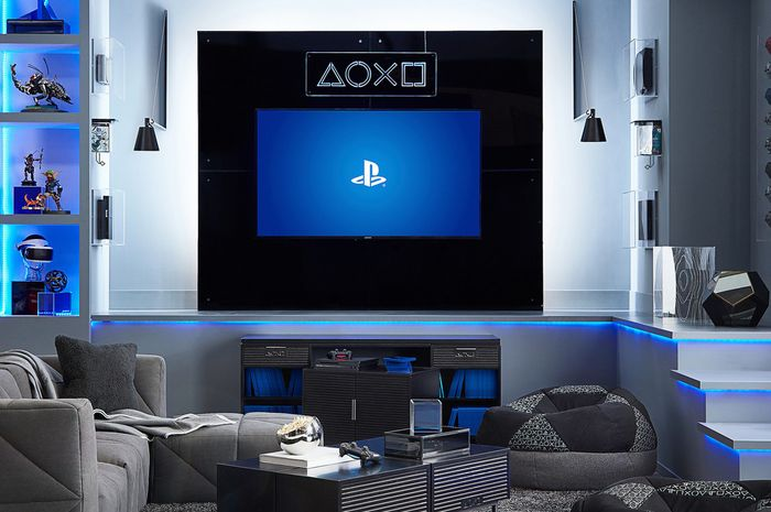 Perabot bertema PlayStation