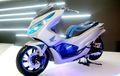 Modifikasi All New Honda PCX 150 2018 Low Rider Ala Big Scooter