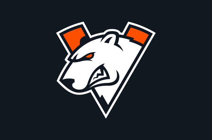 Logo asli Virtus.pro